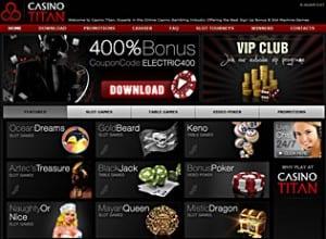 Titan casino mobile review