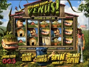 It Came From Venus 3D Slots