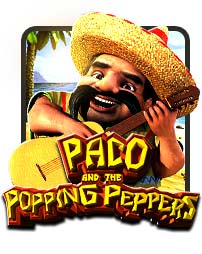 Paco & Popping Peppers 3D Slots