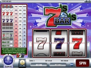 Sevens_And_Bars rival Slots