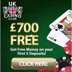 Join UK Casino Club & Get Up to FREE Bonus Money