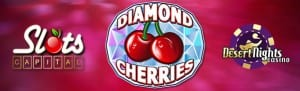 Rival US Casinos Release Diamond Cherries Classic Slots Game
